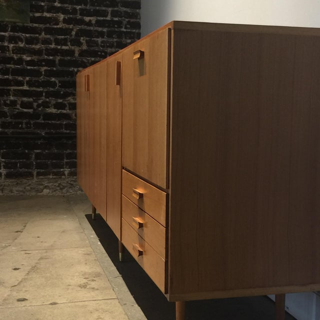 1950s Custom Made Midcentury Ash Sideboard For Sale - Image 4 of 10
