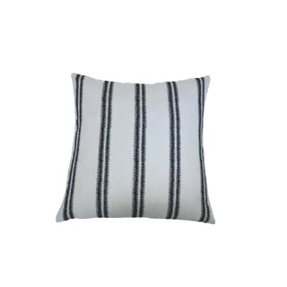 "Schumacher ""Paloma"" Zig Zag Embroidered Pillow"