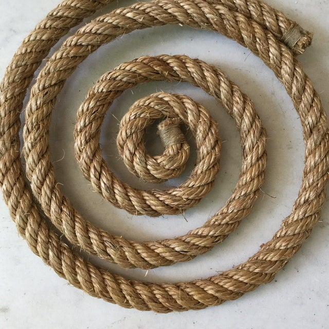 Adrien Audoux and Frida Minet 1960s Audoux Minet Rope Trivet For Sale - Image 4 of 5