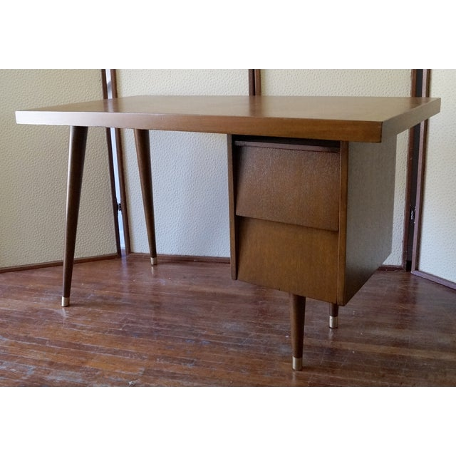 Barzilay Mid-Century California Modern Desk - Image 2 of 11