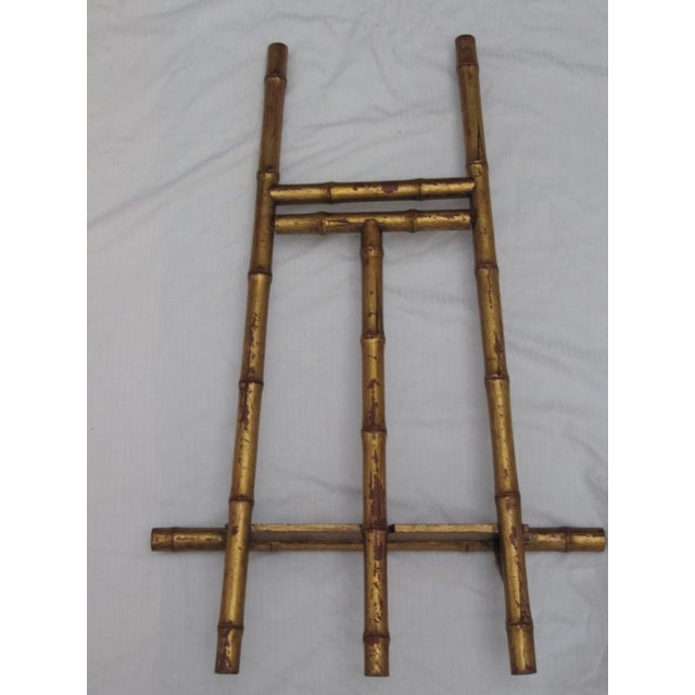 Transitional Large Florentine Style Bamboo Easel - Image 7 of 10
