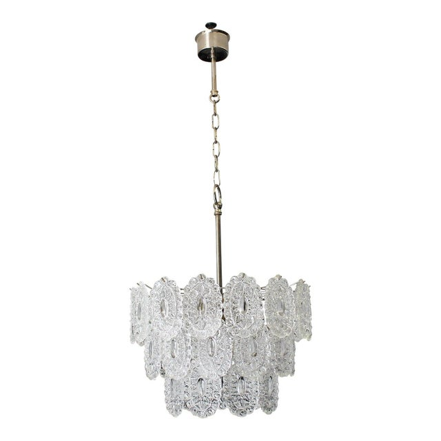 Italian Modern Chandelier by Murano Glass, Circa 1960s For Sale - Image 12 of 12