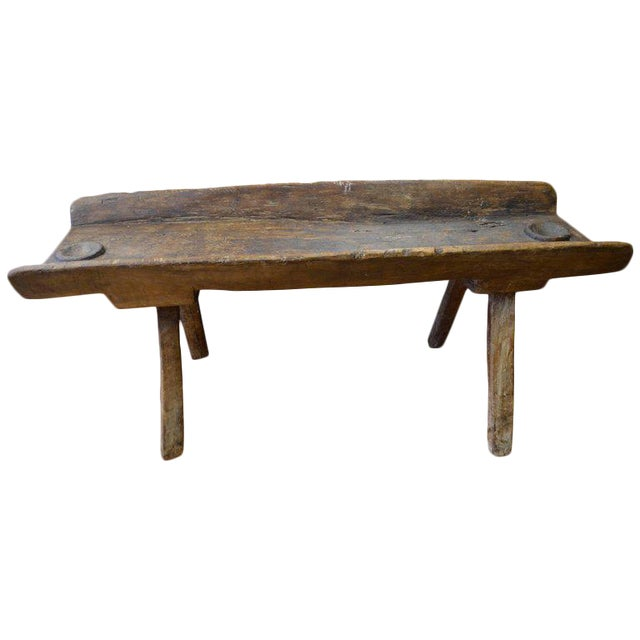 Coffee Table/Side Table from Trough Used as Salt Lick for Deer and ...
