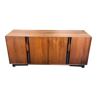 John Kapel Walnut Credenza for Glenn of California For Sale