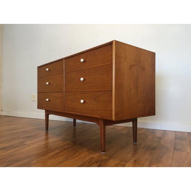 Wood Drexel Declaration 6 Drawer Dresser For Sale - Image 7 of 11