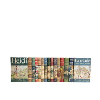 Children's Fantasy Library : Set of Fifteen Decorative Books
