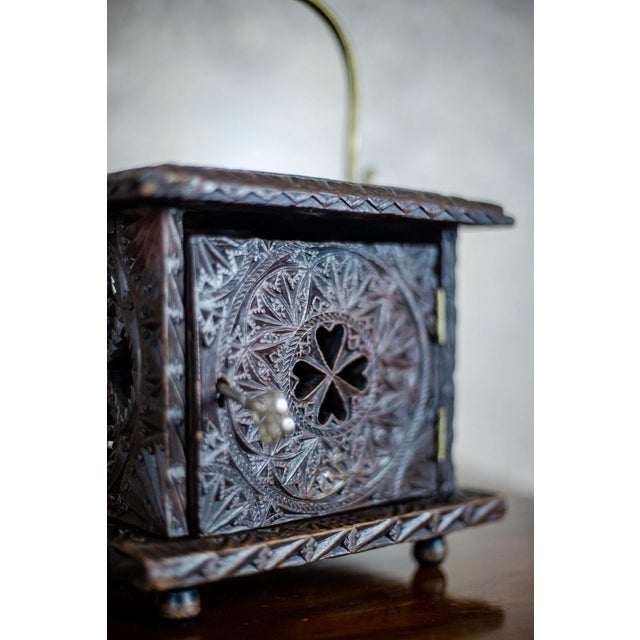 Late 18th Century Wooden Foot Warmer For Sale - Image 10 of 11