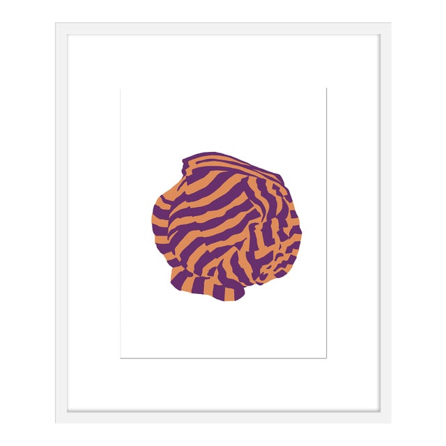 "Medium ""Aubergine Knot 1"" Print by Angela Chrusciaki Blehm, 25"" X 30"" For Sale"