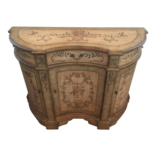 Pulaski Painted Console Cabinet For Sale