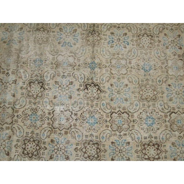 Vintage Shabby Chic Persian Malayer Rug, 8'1'' x 11'8'' - Image 5 of 9