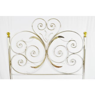 Custom Handcrafted Hammered and Wrought Metal King Headboard Preview