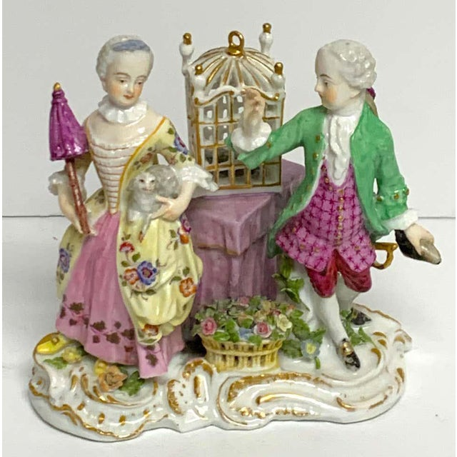 19th Century Meissen Birdcage Grouping For Sale - Image 11 of 12