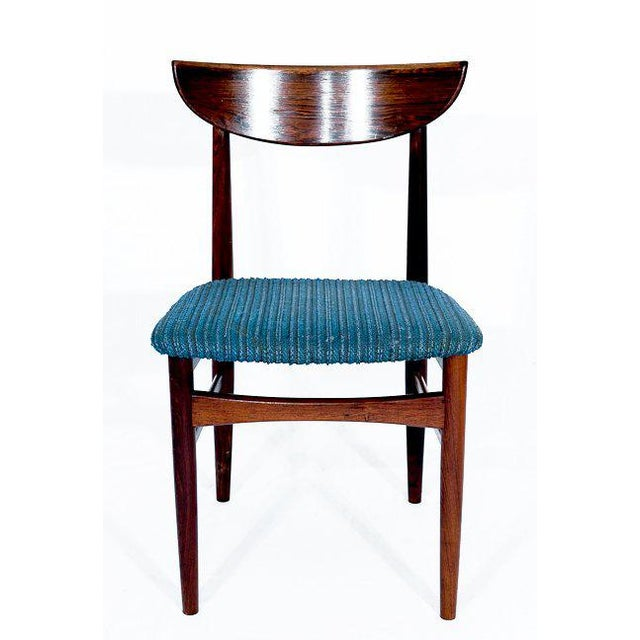 Set of 4 Rosewood Dining Chairs. Store formerly known as ARTFUL DODGER INC