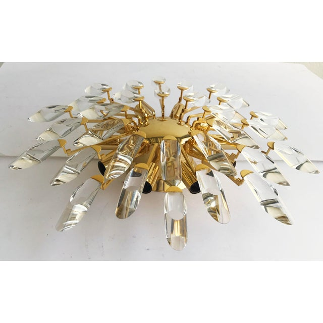 Stilkronen Clear Crystals Italian Flush Mount - Image 3 of 6