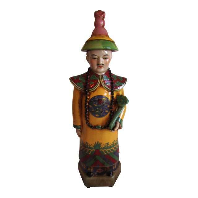 Chinese Ceramic Priest Figurine - Image 2 of 10