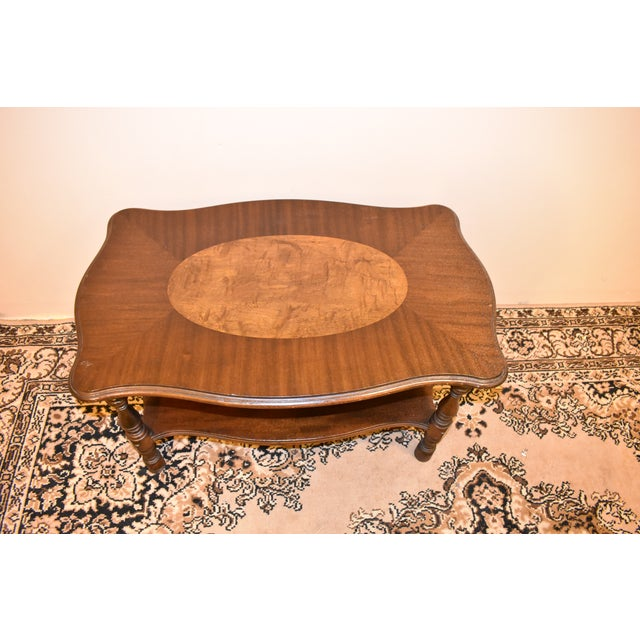Traditional Imperial Antique Mahogany Accent Table For Sale - Image 3 of 8