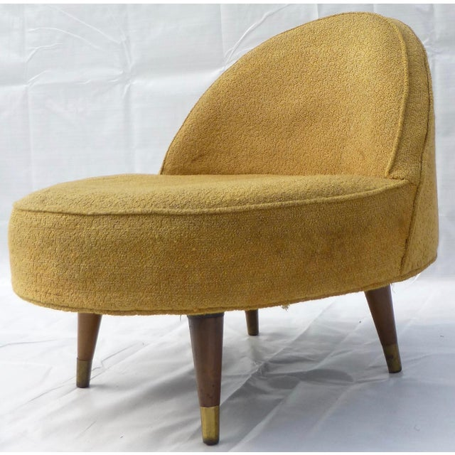 Mid century modern Craft Associates slice chair. We love the retro form! A beauty from all angles! We recommend...