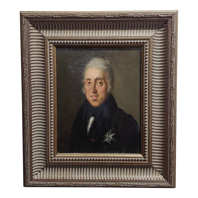 Portrait of Andrew Jackson - 19th Century Oil Painting For Sale