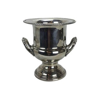 Silver-Plate Champagne or Wine Bucket