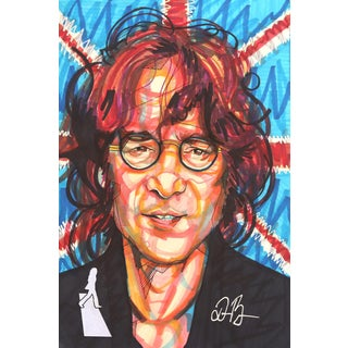 """John Lennon"" Original Artwork by Domonique Brown For Sale"
