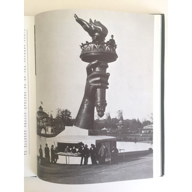 """ Statue of Liberty the 1st 100 Years "" Vintage 1985 Architecture Heritage Large Collector Book For Sale - Image 9 of 11"