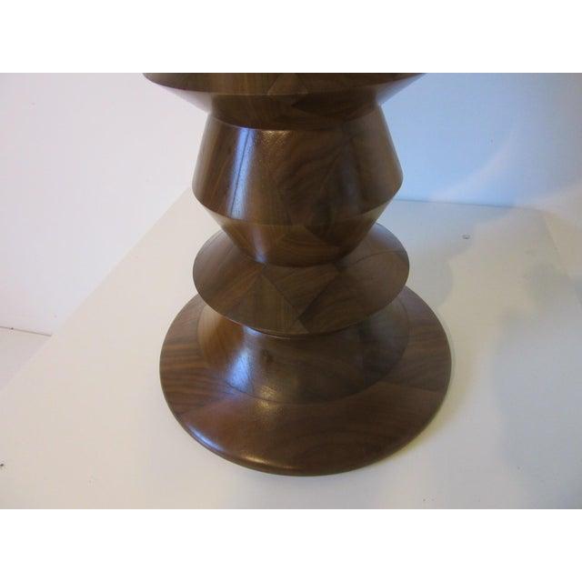 Wood Vintage Eames Walnut Time Life Stool for Herman Miller ( C ) Model For Sale - Image 7 of 9