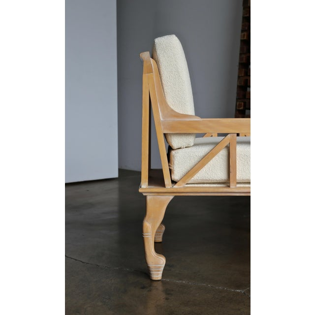 "Mid 20th Century 1970s Vintage John Hutton for Randolph & Hein ""Thebes"" Chair For Sale - Image 5 of 11"