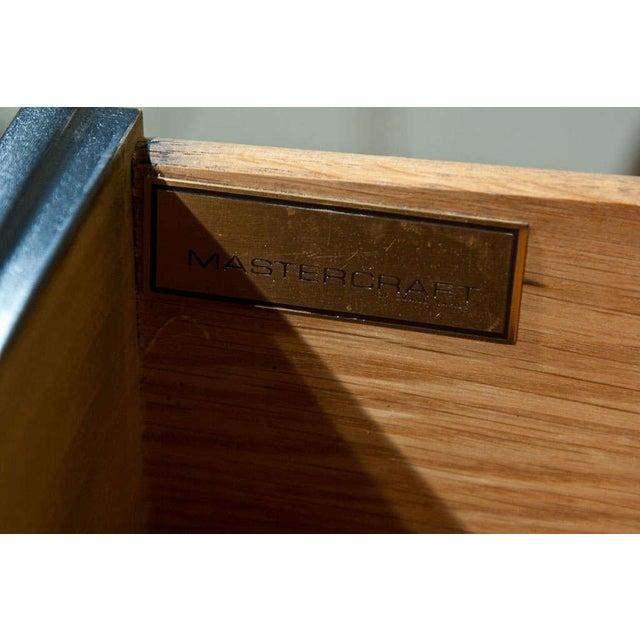 Mid-Century Nine Drawer Dresser by Mastercraft For Sale - Image 10 of 11