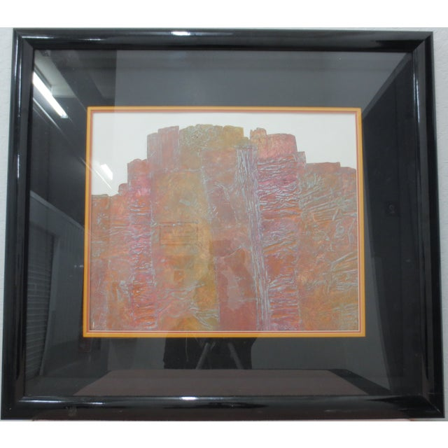 Janet Jones Framed rint on Paper - Solitary Canyon - Image 2 of 5