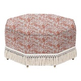 Image of LuRu Home for Casa Cosima Istanbul Cocktail Ottoman, Prussian Carp, Paprika For Sale