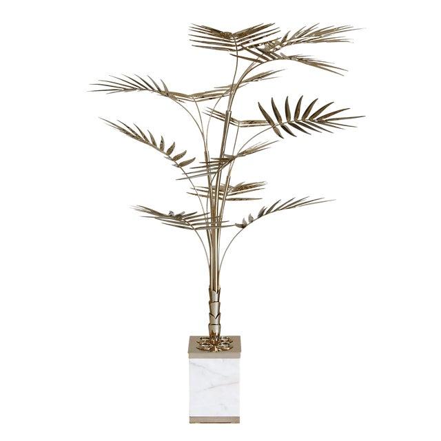 Metal Covet Paris Ivete Palmtree Floor Lamp For Sale - Image 7 of 7
