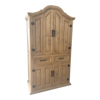 Rustic Style Custom Made Wardrobe/Armoire /Media Cabinet For Sale