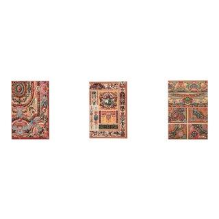18th Century Ornamental Decorative Design Lithographs For Sale
