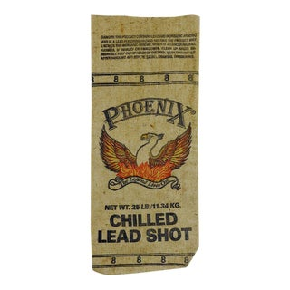 Heavy Canvas Phoenix Lead Shot Bag