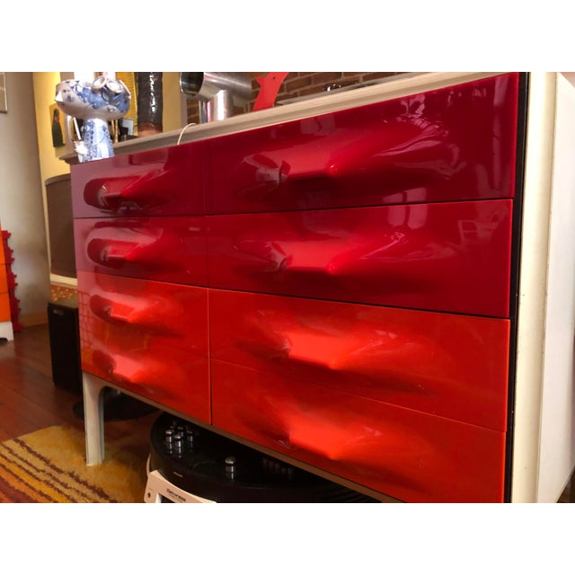 Metal 1960s Raymond Loewy Chest Of Drawers For Sale - Image 7 of 11