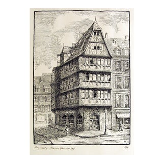 Maison Kammerzell Print For Sale