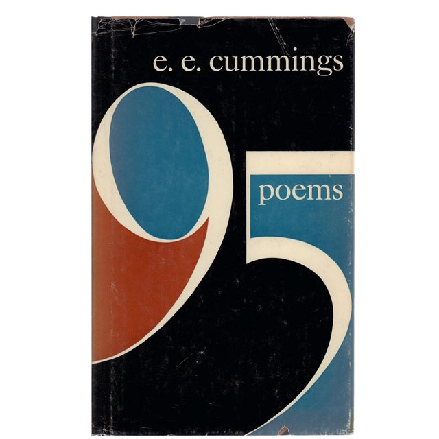 """1950s 1958 """"95 Poems"""" Collectible Book For Sale - Image 5 of 5"""