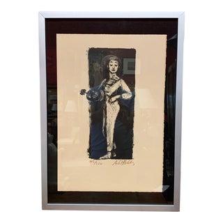 "1950s ""Marcel Marceau"" Original Print, Anna Sosenko Gallery For Sale"