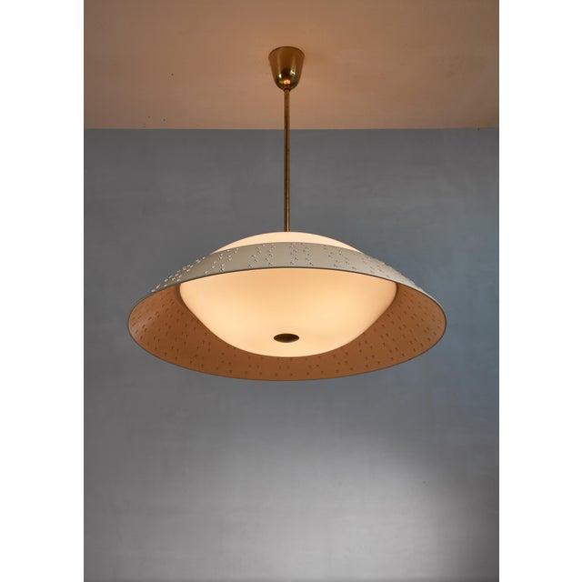1950s Large (72 CM / 28.35 Inch Diameter ) Lisa Johansson-Pape Pendant Lamp For Sale - Image 5 of 5