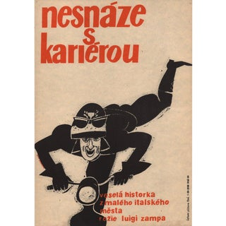The Traffic Policeman 1962 Czech A3 Film Poster For Sale