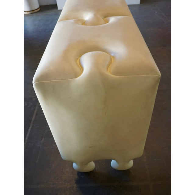Postmodern Postmodern Scala Puzzle Console Table For Sale - Image 3 of 8