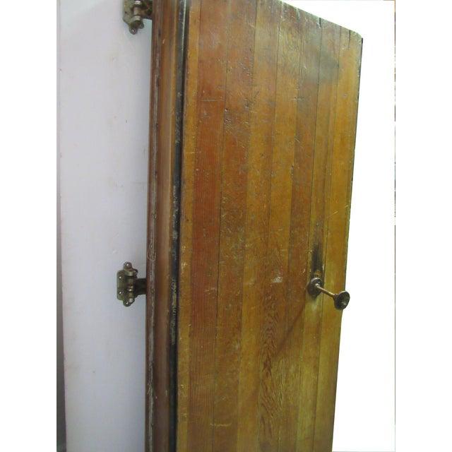 Rustic Vintage Oak Walk in Fridge Door Architectural Salvage For Sale - Image 3 of 10