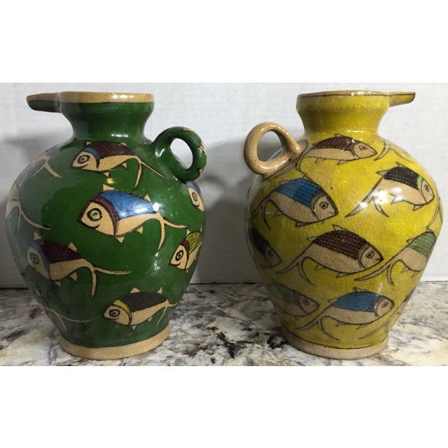 Vintage Persian Ceramic Vessels - A Pair - Image 11 of 11