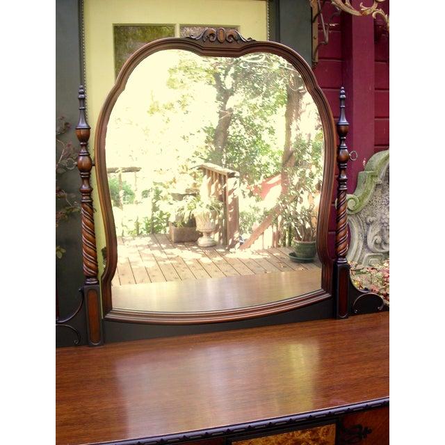 Gothic Jacobean Mahogany Dresser - Image 9 of 11
