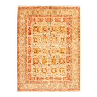"""Classic Hand-Knotted Rug, 9'0"""" X 12'0"""" For Sale"""