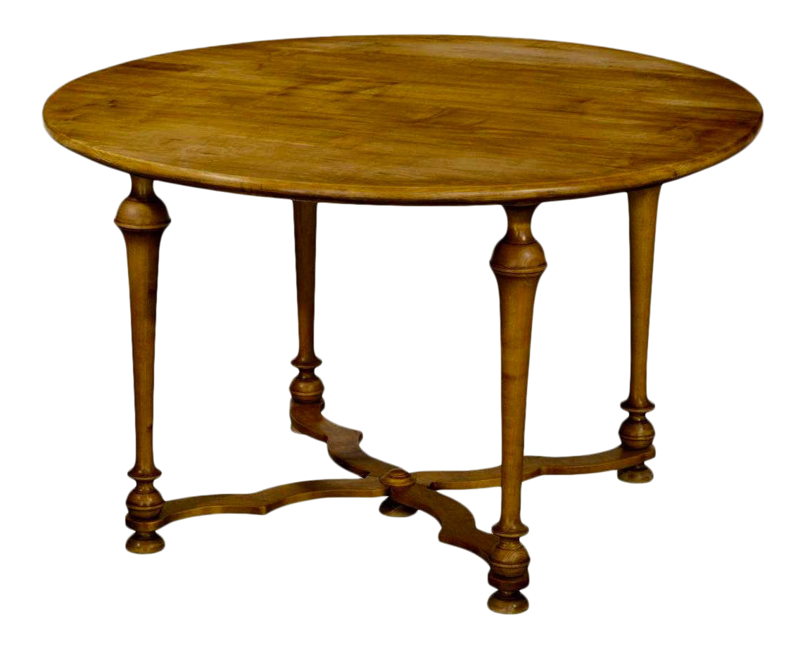 Signed Odd Chair Company, England Maple Breakfast Dining Or Center Table