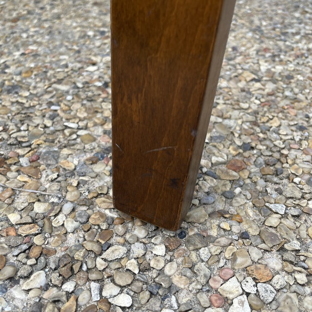 Thonet Mid Century Walnut End Tables - a Pair For Sale - Image 10 of 11