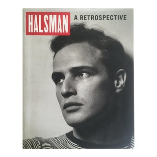 """Halsman a Retrospective"" Vintage 1998 1st Edition Collector Oversized Photography Book For Sale"