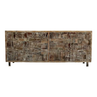 Brown Mahieu Wooden Sideboard For Sale