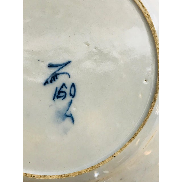 18th Century Delft Plate For Sale - Image 4 of 5